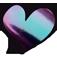 Loveness | Quartz Violet/Green Pigment 1gr