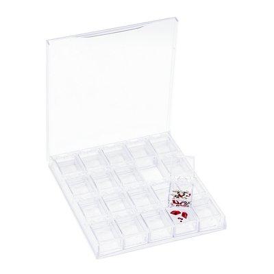 Nail Art Organizer Box 20pcs